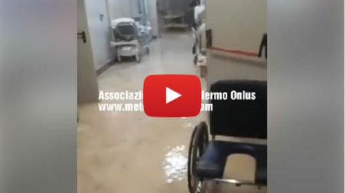 Palermo, situazione gravissima nei pressi dell'ospedale Buccheri la Ferla 🎥 IL VIDEO