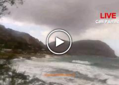 Maltempo su Palermo, forti venti sferzano la costa: ecco le immagini IN DIRETTA 🎥