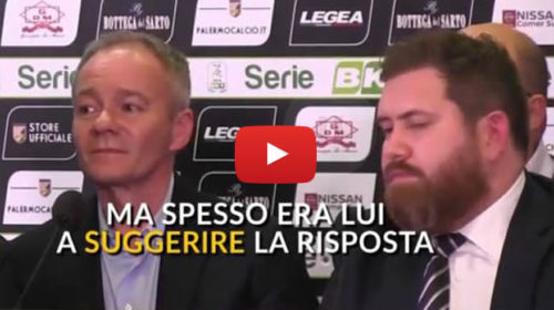 Cessione Palermo: Chi è James Sheehan? Il mistero dell'uomo con la barba 🎥 VIDEO