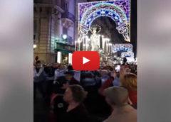 Palermo, folla di fedeli alla processione dell'Immacolata: le immagini 🎥 VIDEO