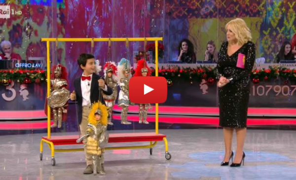 Bambino palermitano conquista il pubblico di Rai 1 con la passione dei Pupi 📺 VIDEO 🎥