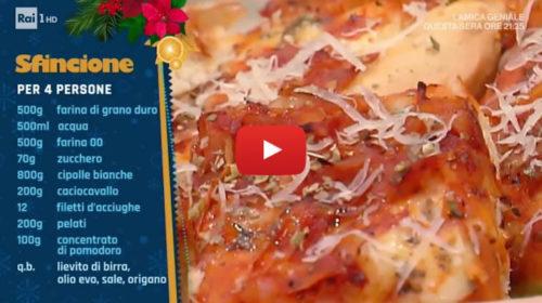 La prova del cuoco 📺 Lo Sfincione palermitano di Natale Giunta 🎥 VIDEO
