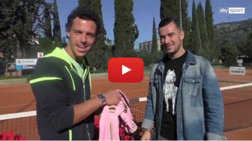 Sky Sport 📺 Cecchinato-Nestorovski, auguri da Palermo: intervista doppia tra il tennista e il calciatore 🎥 VIDEO