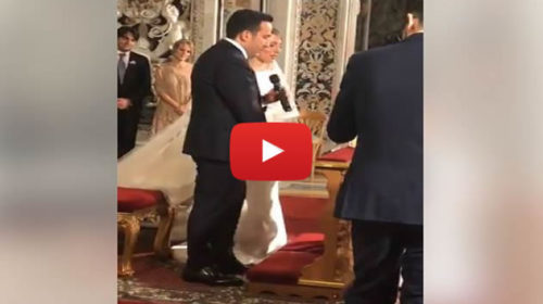 Matrimonio a Palermo tra il popolare chef Natale Giunta e la sua compagna – IL VIDEO