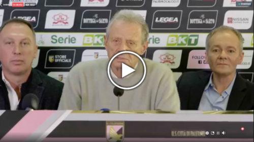 VIDEO: Segui la conferenza stampa di presentazione dei nuovi proprietari del palermo 🎥 IN DIRETTA