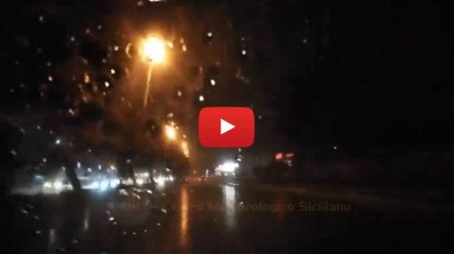 Forti piogge su Palermo, le immagini da Viale Regione Siciliana 🎥 VIDEO