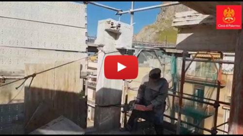 Palermo, le immagini della demolizione di un edificio abusivo a Tommaso Natale 🎥 VIDEO