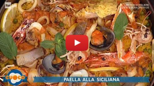 """La Prova del Cuoco, la """"Paella alla siciliana"""" di Chef Natale Giunta 📺 VIDEO 🎥"""
