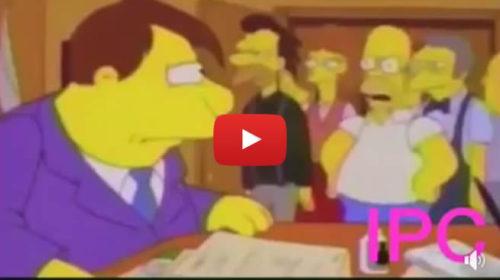 """""""DOTTÓ OLLANDO"""" La contestazione versione cartone animato è esilarante 🎥 VIDEO"""
