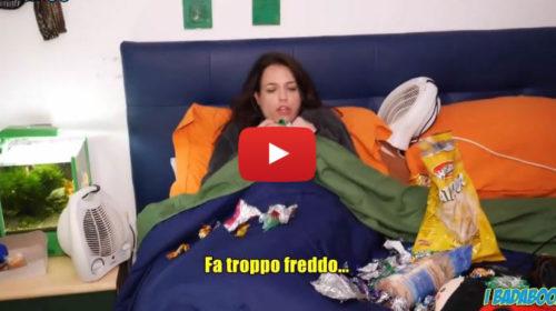 """I Badaboom – """"QUANDO LEI E' TROPPO FREDDOLOSA"""" 😂 VIDEO 🎥"""