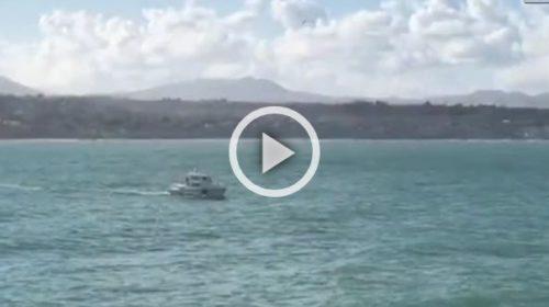Ragazzo travolto dalle onde a Terrasini, le immagini delle ricerche 🎥 VIDEO