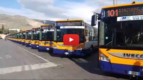 Palermo, presentati 38 nuovi autobus a metano dell'Amat: 89 nuovi mezzi entro gennaio 🎥 VIDEO
