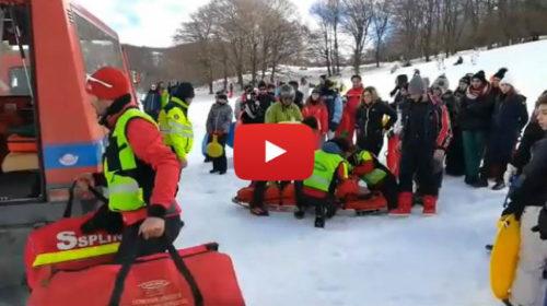 Piano Battaglia, incidenti e feriti sulla neve: ecco le immagini dei soccorsi 🎥 VIDEO