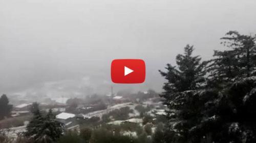 Neve sulle Madonie e temperature sotto lo zero, ecco le immagini nel palermitano 🎥 VIDEO