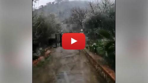 Palermo – Nevica anche a Cefalù, ecco le immagini 🎥 VIDEO