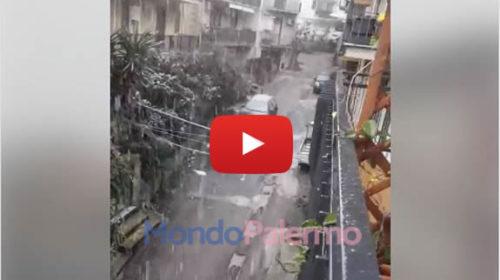 Nevica alle porte di Palermo, le immagini da Altofonte 🎥 VIDEO