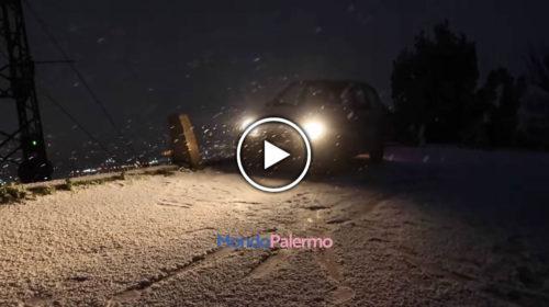 """""""Io travolto dalla bufera di neve a Monte Pellegrino: una discesa da brividi"""" – IL VIDEO 🎥"""