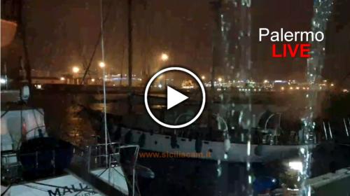 Maltempo su Palermo, ecco le immagini IN DIRETTA dal Porto – VIDEO 🎥