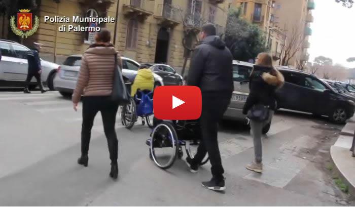 Palermo disabili e polizia municipale insieme contro gli for Arrediamo insieme palermo