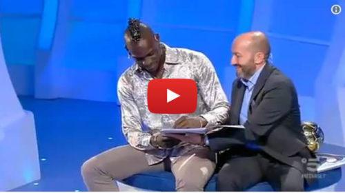 Mario Balotelli a C'è posta per te regala una macchina 📺 VIDEO 🎥