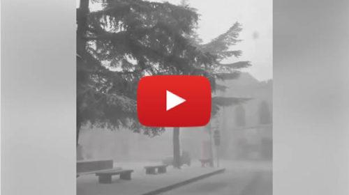 Neve sul palermitano, Blizzard in atto a Petralia Soprana: le immagini ❄ VIDEO 🎥