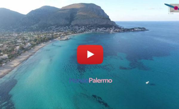 Palermo, volo mozzafiato col drone sul golfo di Mondello ☀🌴🌊 VIDEO 🎥