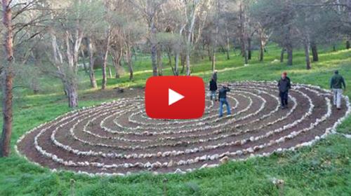 Il suggestivo labirinto di Monte Pellegrino, un posto di meditazione immerso nella natura – VIDEO 🎥