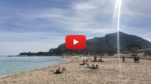Aria d'estate a Palermo: +27°C ☀️ Ecco le immagini da Mondello oggi 7 Marzo 2019 🎥 VIDEO