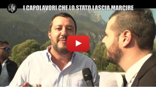 Le Iene con Sgarbi a Palermo per parlare di un capolavoro abbandonato dallo Stato 🎥 VIDEO