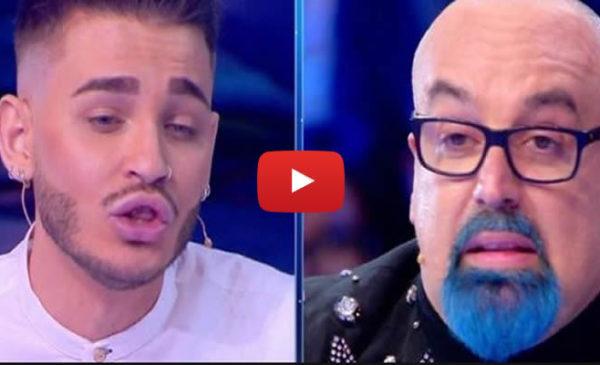 """Live Non è la D'Urso, Cristian Imparato contro Giovanni Ciacci: """"Io non sono rifatto"""" 📺 VIDEO"""