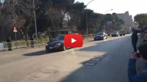 Xi Jinping a Palermo, il lungo corteo di auto per le vie della città 🎥 VIDEO