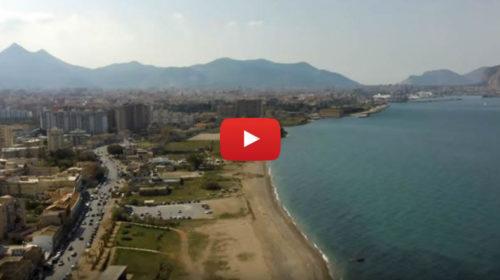 Spettacolari immagini dalla Costa Sud di Palermo 😍 VIDEO