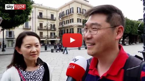 Migliaia di turisti a Palermo, ecco le loro impressioni sulla città a Sky Tg24 📺 VIDEO