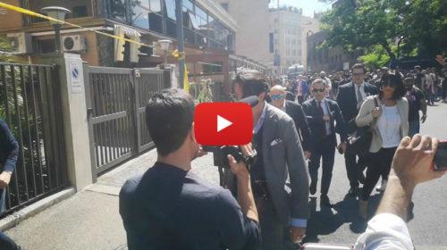 La proprietà ed i legali del Palermo arrivano alla Corte Federale d'Appello 🎥 VIDEO