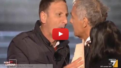 """""""Mi mette le mani addosso?"""", rissa sfiorata tra Massimo Giletti e il sindaco di Mezzojuso 📺 IL VIDEO"""