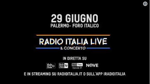 Radio Italia Live a Palermo: ecco tutti i cantanti che saliranno sul palco 🎥 VIDEO