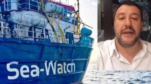 Viminale 'scavalcato' nello sbarco della Sea Watch, l'ira di Salvini contro alleati e magistrati (VIDEO)