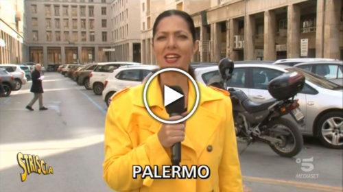 """Striscia la Notizia, l'Agenzia delle Entrate di Palermo e il """"lavoratore in nero"""" davanti la porta  VIDEO 🎥"""