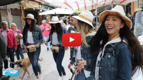 """Le belle ragazze di """"Donnavventura"""" alla scoperta di Palermo 📺 VIDEO"""