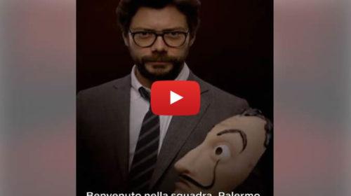 """""""La Casa di Carta"""" E' Palermo il nuovo membro della banda: la presentazione 🎥 VIDEO"""