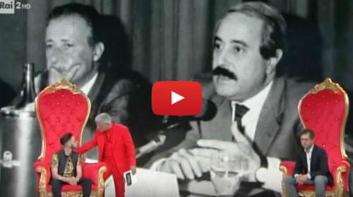 Critiche per il cantante neomelodico siciliano dopo le parole in TV su Falcone e Borsellino 📺 VIDEO