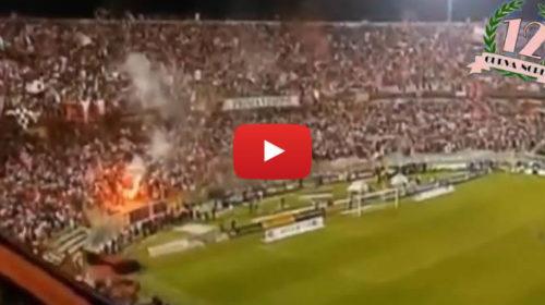Curva Nord 12: mega coreografia per l'amichevole tra il nuovo Palermo e le Leggende rosanero 🎥 VIDEO