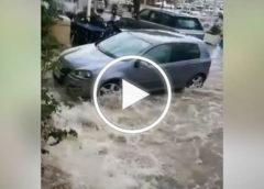 Temporale sul trapanese, questa la situazione a Castellammare del Golfo |VIDEO 🎥