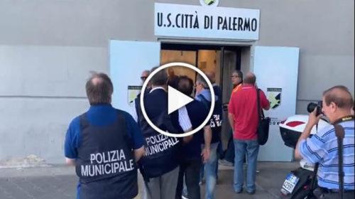 Palermo, sfratto in corso: allo Stadio Reno Barbera arrivano le volanti   IL VIDEO 🎥