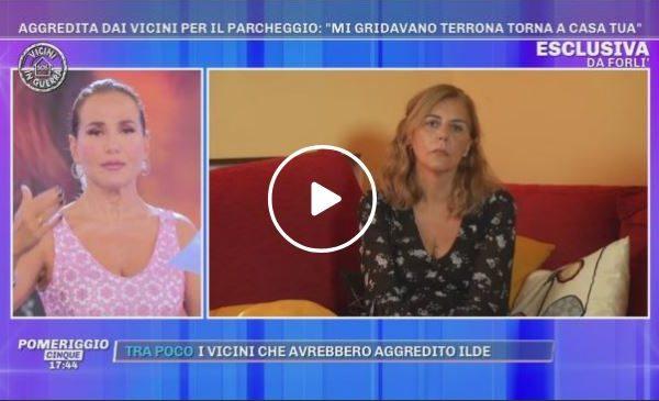 """A """"Pomeriggio 5"""" parla la donna di Terrasini aggredita e insultata a Forlì 📺 VIDEO"""