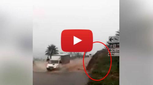 Nubifragio a Castellammare del Golfo, cascate di fango sulle strade   IL VIDEO 🎥