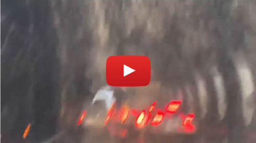 Improvvisa burrasca sull'A19 Palermo-Catania. I VIDEO della galleria allagata 🎥