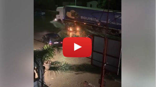 Situazione LIVE: allagamenti in Via Messina Marine dopo il temporale: decine di auto impantanate   VIDEO 📹
