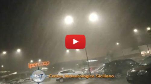 Situazione Live – Palermo colpita da un violento Temporale: ecco le immagini 🎥 VIDEO