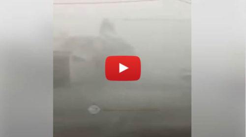Downburst particolarmente violento si abbatte nel siracusano, le immagini sono impressionanti | VIDEO 📹